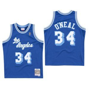 Los Angeles Lakers Shaquille O'Neal Blue Jersey